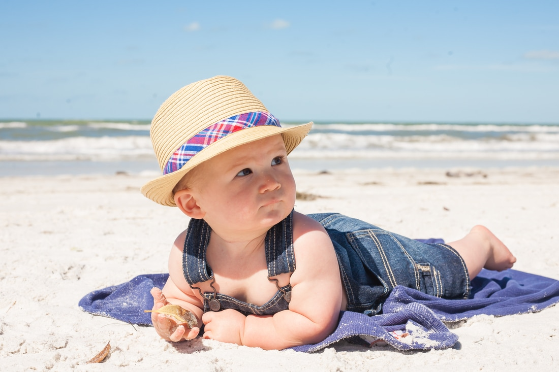 Baby Photographer Clearwater Beach