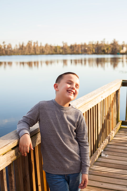 Laughing Boy on New Port Richey Dock