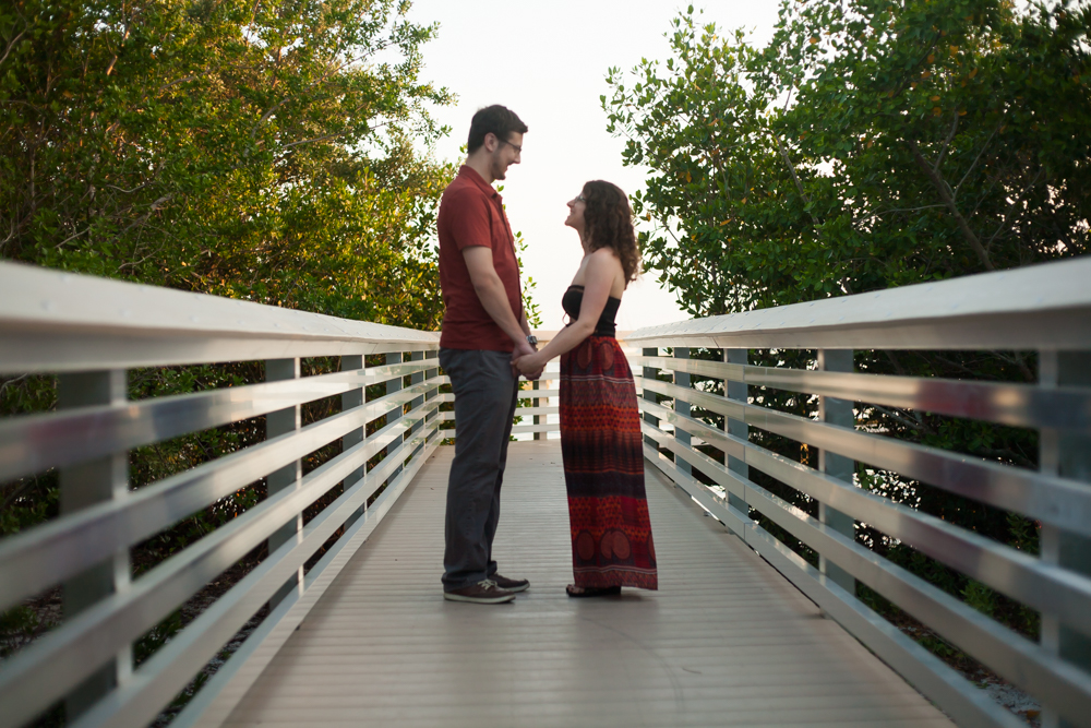 Engagement Photos in Tampa Clam Bayou
