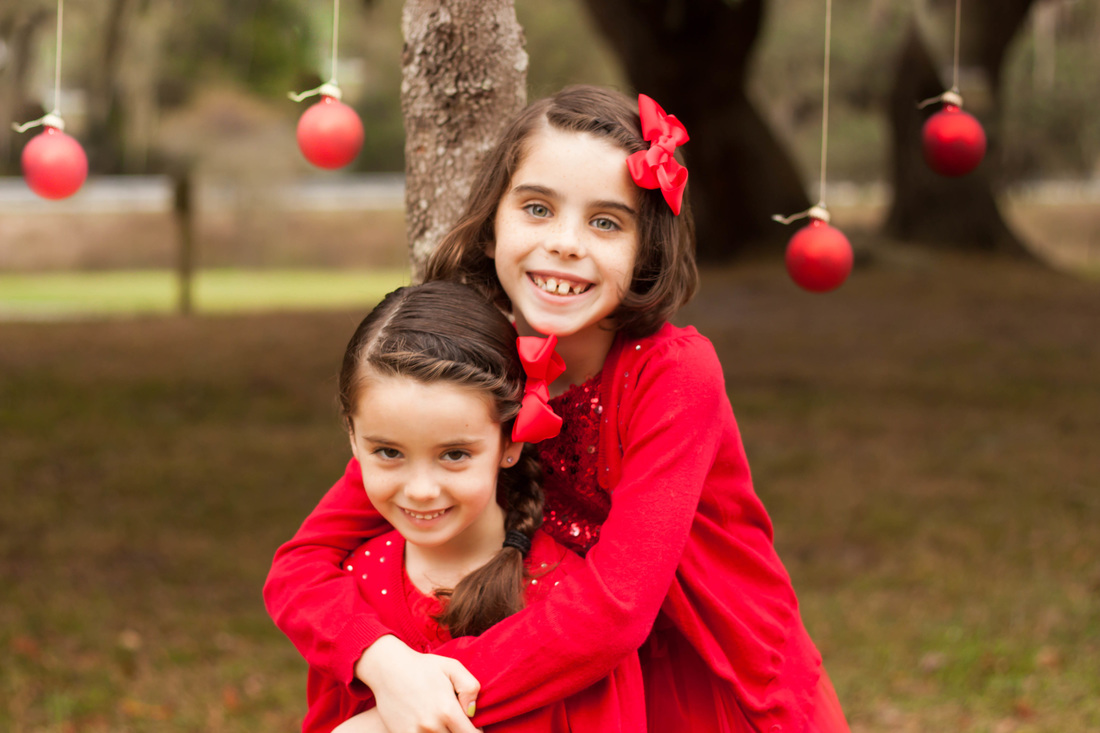 Outdoor Christmas Photos in Tampa