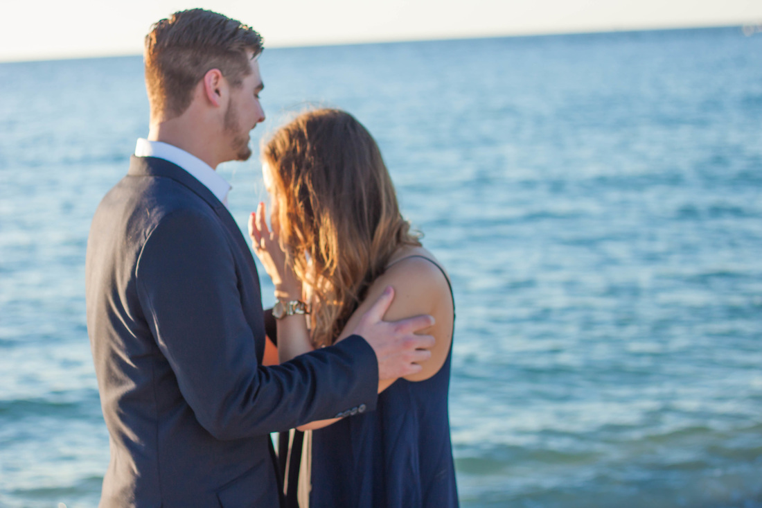 surprise Engagement Photos in Clearwater FL