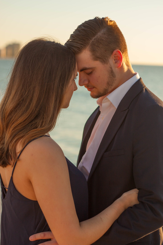 Intimate Engagement Photography Tampa