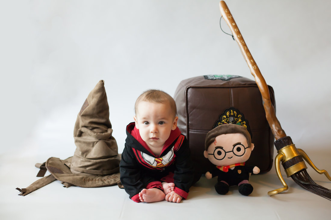 Harry Potter themed baby photoshoot in Wesley chapel Florida