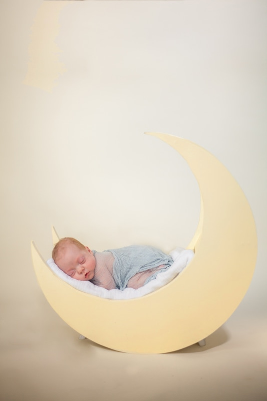 baby in the moon photo in tampa fl