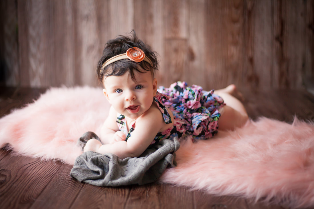 Rustic Styled Baby Photos New Port Richey FL