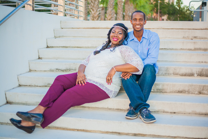 Tampa Engagement Portraits