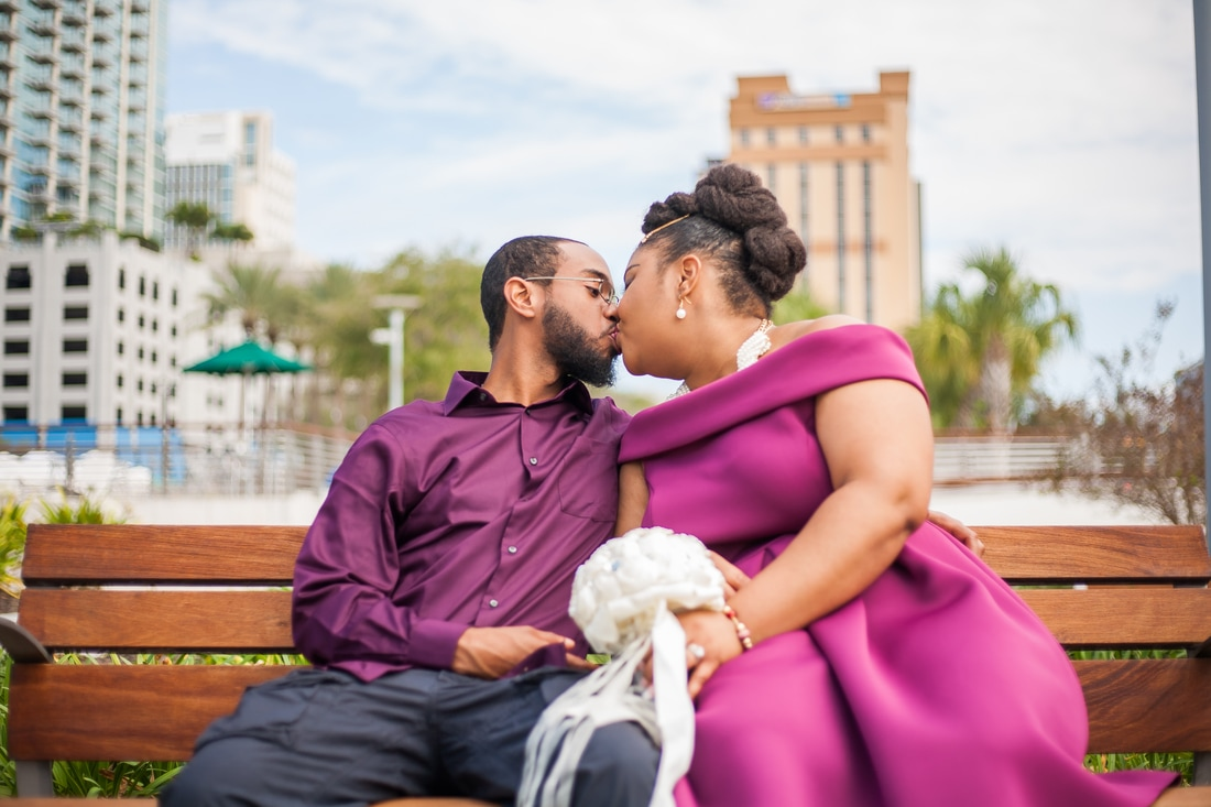 Engagement Photographer Tampa Curtis Hixon Park
